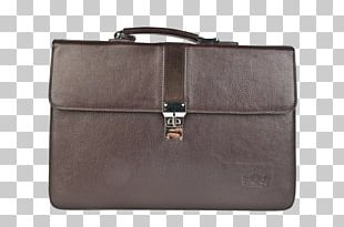 Briefcase Handbag Leather Messenger Bags PNG