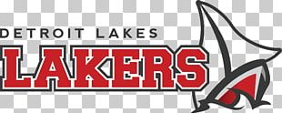 Detroit Lakes High School Brand Logo Common Ostrich Design PNG