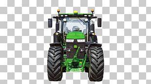 John Deere Tractor Efficiency Architectural Engineering Machine PNG