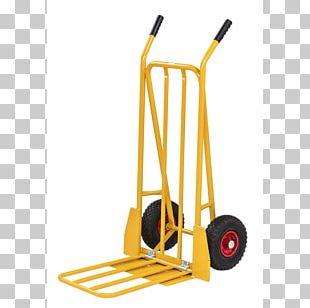 Hand Truck Forklift Cart Transport PNG