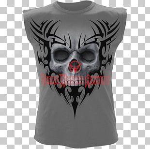Death Human Skull Symbolism Art T-shirt PNG
