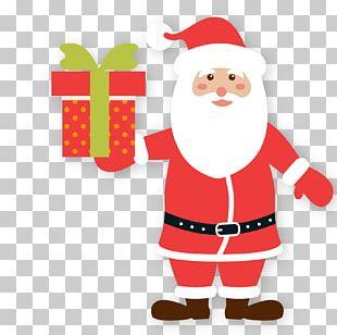 Santa Claus Gift New Year PNG