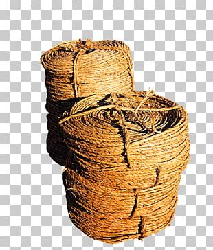 Twine Rope Woven Fabric PNG