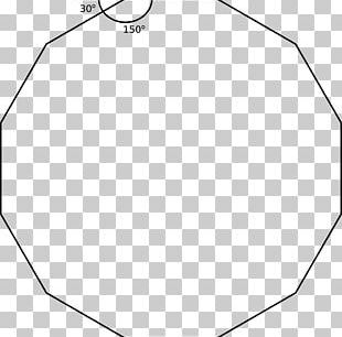 Circle Point Angle White Line Art PNG