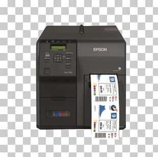 Label Printer Epson ColorWorks TM-C7500 PNG