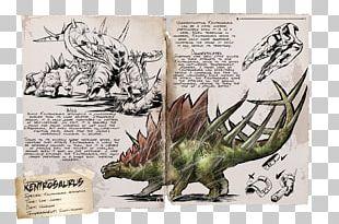 ARK: Survival Evolved Kentrosaurus Stegosaurus Liopleurodon Dinosaur PNG