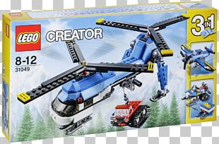 Amazon.com LEGO 31049 Creator Twin Spin Helicopter Lego Creator Lego Racers PNG