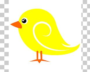 Bird Yellow Domestic Canary PNG