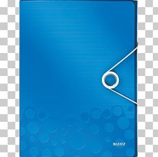 Blue Esselte Leitz GmbH & Co KG Document PNG
