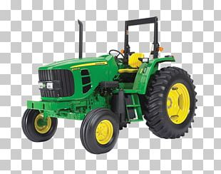 John Deere Tractor Agriculture Agricultural Machinery Heavy Machinery PNG