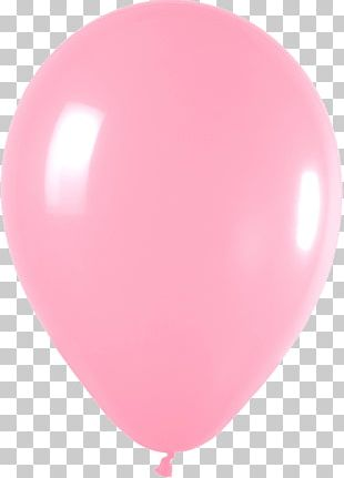 Balloon Pink Birthday PNG