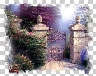 Beyond The Garden Gate Beyond The Garden Gate Painting Thomas Kinkade Painter Of Light Address Book PNG