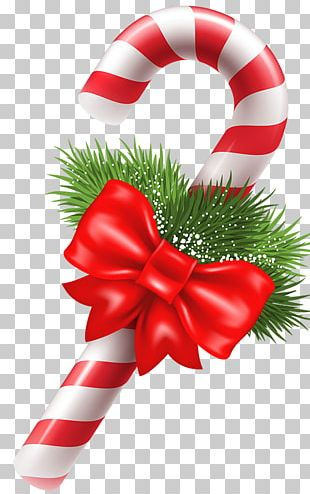 Christmas Ornament Candy Cane New Year PNG
