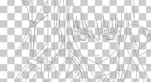 Line Art Drawing Anime Sketch PNG