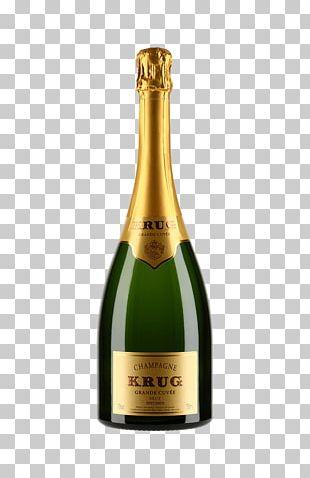 Champagne Krug Wine Cuvée Brut PNG