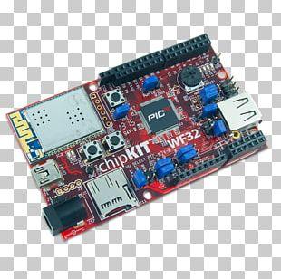 Microcontroller Electronics Arduino Flash Memory Microchip Technology PNG