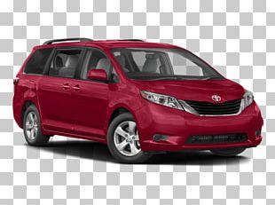 2018 Toyota Sienna Car Minivan PNG