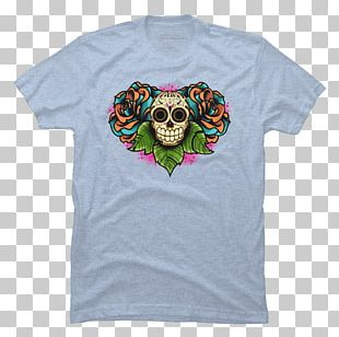 Calavera T-shirt Skull Day Of The Dead Sticker PNG