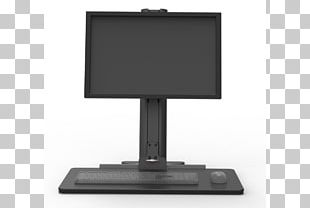Computer Monitors Sit-stand Desk Electronic Visual Display Computer Keyboard Computer Hardware PNG