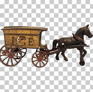 Horse-drawn Vehicle Wagon Horse And Buggy Carriage PNG