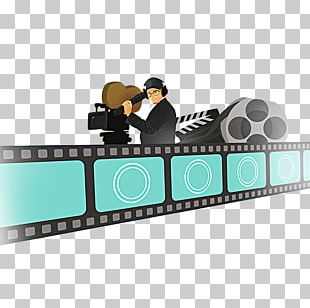 Photographic Film Cartoon Illustration PNG