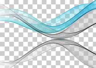 Blue Angle Ribbon PNG