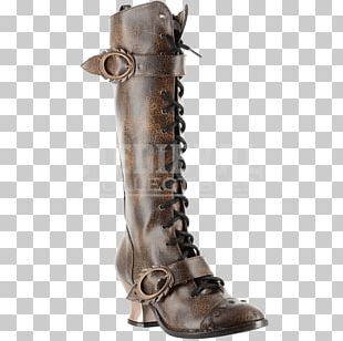 Hades Steampunk Knee-high Boot Shoe PNG