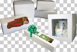 Christmas Cake Bakery Box Window Cupcake PNG