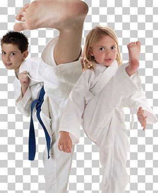 Dobok Taekwondo Karate Martial Arts Kick PNG