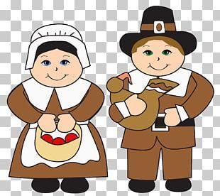Pilgrims Thanksgiving PNG