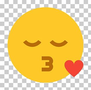 Computer Icons Kiss Emoji Smiley PNG