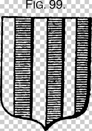 The Grammar Of Heraldry Ordinary Black And White Monochrome Pattern PNG