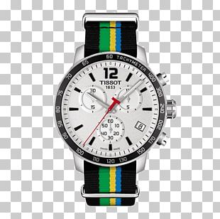 Watch Tissot Chronograph Strap Jewellery PNG