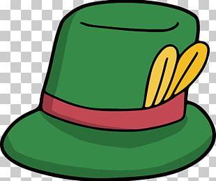 Hat Green Vecteur PNG