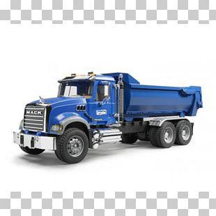 Mack Trucks Car Dump Truck Bruder PNG