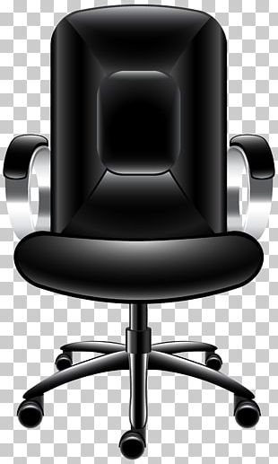 Office Chair Table PNG