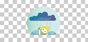 Turquoise Blue Animation Logo Font PNG
