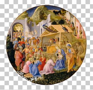 National Gallery Of Art Adoration Of The Magi Renaissance Painting Painter PNG