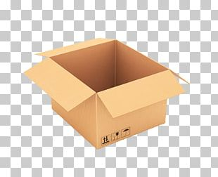 Box Paper Packaging And Labeling Yellow PNG