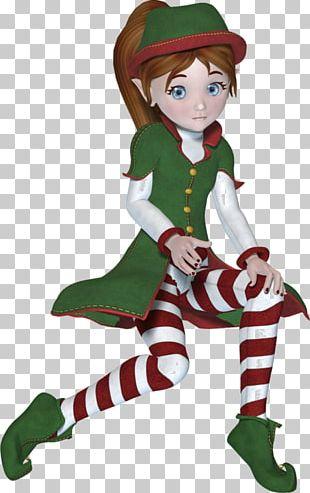 Christmas Elf Santa Claus Village Lutin PNG