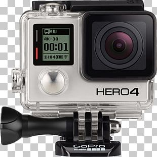 GoPro Hero2 Action Camera 4K Resolution PNG