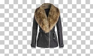 Fur Clothing Winter Clothing Leather Jacket PNG