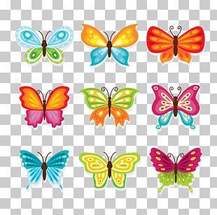 Butterfly Cartoon PNG