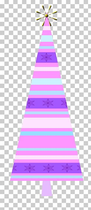 Christmas Tree Triangle Pink M Christmas Day PNG