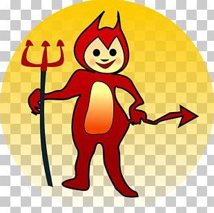 Devil Demon Black And White PNG