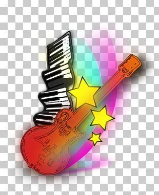 Keyboard Music Guitar Piano PNG