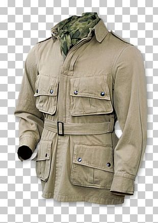 Jacket Coat Khaki Military Uniform PNG