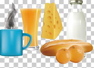 Orange Juice Coffee Breakfast Orange Drink PNG