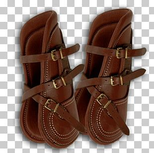 Leather Sandal Strap Shoe Boot PNG