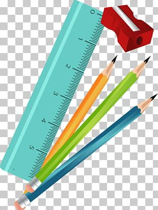 Pencil Sharpeners Colored Pencil Drawing PNG